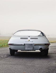 1963 Chevrolet Corvair Testudo Concept, by Bertone