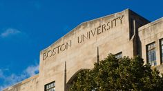 Boston is the ultimate college town: There are over 50 colleges and universities in the metro area, and one in five people you meet on the street will be a student. But, even among elite schools like Harvard and MIT, Boston University stands out. Boston University Campus, Fordham University, University Dorms, College Campus, College Life, Boston College, Boston Things To Do, College Planning, Jurassic Park World