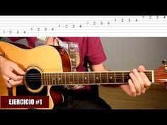 5 Ejercicios Excelentes Para Practicar A Diario En Guitarra Acústica #1: Digitación TCDG - YouTube