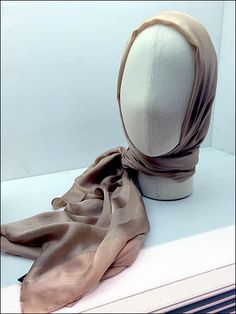 Scarf merchandising fields several very popular threads here on FixturesCloseUp, but I enjoyed the textured look of this Fabric Headform Italian Style. Ballet Shoes, Dance Shoes, Scarf Knots, Scarf Head, Retail Merchandising, Italian Style, Cover, Fabric, Fashion