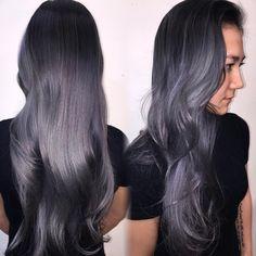 """Silver Fox ......refreshed @sserra8910 using @fanola_usa 10.1 + silver + blue"""