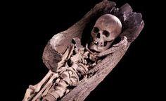 Beitske, Reconstructie gezicht van vrouw uit boomkistgraf Hogebeintum, 7de eeuw AD