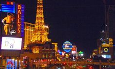 The Las Vegas strip, one of my favorite places to be...