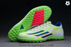 14af4a0cf855 FG ADIDAS ADIZERO F50 Core Bianco Rich Blu Solar Verde Uomo. elizabeth  redfern · 2015 Football Shoes