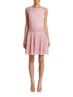 Carolina Herrera - Layered Silk Dress $3490