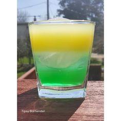 ESMERALD TREE BOA 2 oz. (60 ml) Green maraschino cherry syrup 3 oz. (90 ml) Vodka 2 oz. (60 ml) Orange juice 1 oz. (30 ml) Sprite