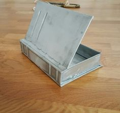 Zinc book box by Bruckin