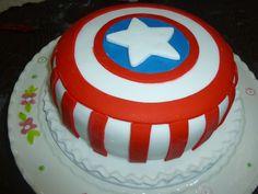 Cake Capitán América