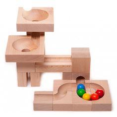 Holzkugelbahn Trichter Basis