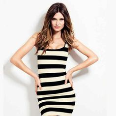 Round Neck Wide White-Black Stripes Short Bodycon Tank Dress Plus Size Summer Dresses Sexy Dresses, Short Dresses, Summer Dresses, Midi Dresses, Summer Outfit, Dress Skirt, Bodycon Dress, Tank Dress, Sheath Dress