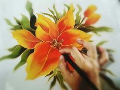 53 best silk and chiffon painting images on pinterest in 2018 silk painting flower mightylinksfo
