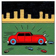La Belle Illustration: Alain Pilon, The New York Times, Opinion Pages, 12 octobre 2014