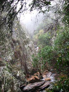 Paraje mágico y agreste situado por encima del Chorreón del Tajo, (río Alavea) en Caminomorisco, Hurdes.