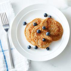 Peanut Butter Banana Almond Milk Pancakes   Recipes   Weight Watchers