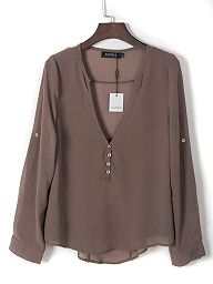 Shop Pink Open Back Two-layer Scallop Trims Blouse from choies.com .Free shipping Worldwide.$8.9