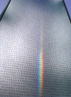 Etched Glass 9/11 Memorial