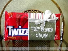 """Inexpensive Christmas Gift Ideas - Happy Home Fairy """"Twizz"""" the season to be jolly . Inexpensive Christmas Gift Ideas « from Happy Home Fairy. Neighbor Christmas Gifts, Neighbor Gifts, Santa Gifts, 12 Days Of Christmas, Christmas Goodies, Best Christmas Gifts, Christmas Treats, Xmas Gifts, Holiday Crafts"""