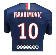 Maillot de Foot 2014 2015 Paris Saint Germain Domicile(Ibrahimovic 10)  Football Accessories b8c1de42b4c6