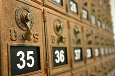 Bethany College mailroom. Photo by Stephanie McDowell