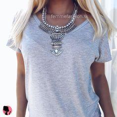 Náhrdelník Harper #necklace #necklaces #accessories #nahrdelník #bizuteria #bižutréria #jewelry #jewellery #dnesnosim http://femmefashion.sk/nahrdelniky/2555-nahrdelnik-harper.html