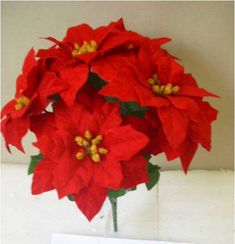 WARNING!!!! These Michael's Poinsettias are RECALLED due to exposure to mold.   Return these and get it out of your attic with your Christmas stuff so no mold spores are in your home making your family ill!!  SKU 424066 Red Poinsettia Bush