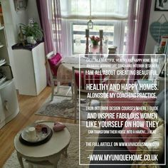 On Vivacious Mum's blog today; CREATING A BEAUTIFUL HEALTHY AND HAPPY HOME. Go to www.vivaciousmum.com to read the full article. #MyUniqueHome #Home #Interior #Design #Inspiration #BeatifulHealthyHappyHome #VivaciousMum #DesignTheLifestyleYouDesire