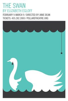This poster titled the Swan, utilses constrained visual language and as well as the principles of gestalts law of figure and ground. ]The swan and ballet portray same elements as elegant and feminine, therefore is match together. And the graphic explore concepts that promote the swan ballet performances.