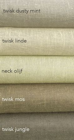 """Green # (neck # send # you # love # # olive green # """"moss green urban jungle # # green home # # curtains-to-measure # - Einrichtungsstil Green Home Curtains, Olive Green Curtains, Linen Curtains, Linen Fabric, Colour Combinations Fashion, Color Mixing Chart, Paint Colors For Home, Color Of Life, Fabric Design"""