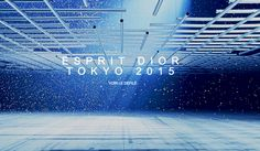 Dior Pre Fall 15   runway set in Tokyo