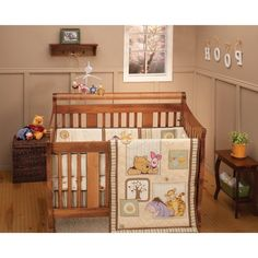 Lovely Classic Winnie The Pooh Crib Bedding Set Image Inspirations