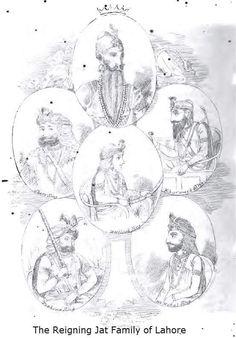 #maharajaranjitsingh Maharaja Sher Singh, Maharaja Khadak Singh , #lahore,#jatsikh #sandhawalia, #jatrulers, #jatwarriors ,#sikhempire Maharaja Ranjit Singh, Vintage World Maps