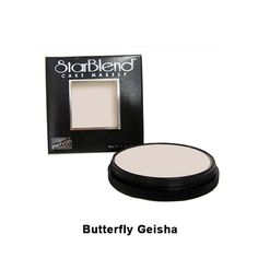 Mehron StarBlend Cake Makeup - Butterfly/Geisha (110-14B) | Camera Ready Cosmetics - 6