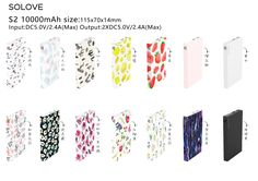 Smaller size of S2 model, 10000mah, with various color for you at Michael.lee@solove.com.hk