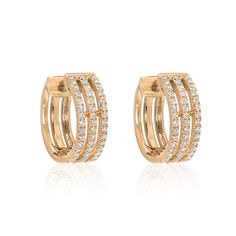 Jewelry Design Earrings, Gold Earrings Designs, Ear Jewelry, Statement Jewelry, Fine Jewelry, Ring Designs, Hoop Earrings, Diamond Earrings Indian, Gold Mangalsutra Designs