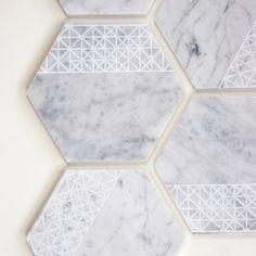 Savannah Hayes Carrara Marble Coasters