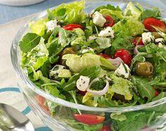 Home Recipes, Healthy Recipes, Savoury Recipes, Marinated Cheese, Easter Salad, Arugula Salad Recipes, Farmers Market Recipes, Romaine Salad, Salad With Sweet Potato