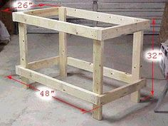 Build A Workbench For $20