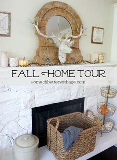 So Much Better With Age | Fall Home Tour | http://www.somuchbetterwithage.com