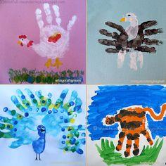 Basta um pouco de tinta e criatividade para você fazer desenhos usando mãos virarem trabalhos de arte incríveis. Aqui tem 20 ideias para você se inspirar.