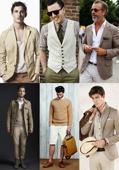 men style:The One Colour Lookbook
