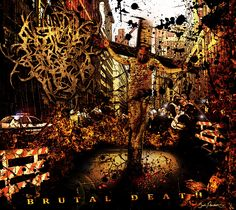 """Abated Mass of Flesh """"Brutal Death"""" EP Cover Image"""