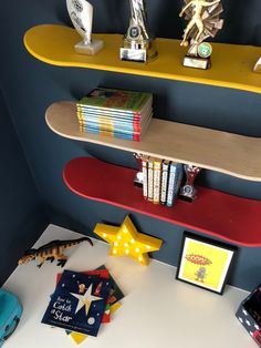 I just want to say thank you for all your lovely comments on Jack's bedroom transformation. Interiors is a true passion of mine so I wanted… Gamer Bedroom, Boys Bedroom Paint, Boys Bedroom Decor, Teen Room Decor, Bedroom Ideas, Casa Kids, Big Boy Bedrooms, Jüngstes Kind, Kids Room Design