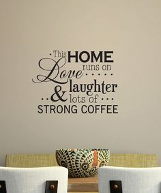 Belvedere Designs Black 'Love, Laughter' Wall Quote
