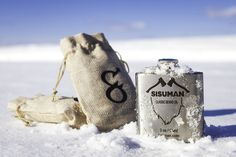 Big bottle of the classic Sisuman Beard Oil Natural, handmade and bottled in a stainless steel flask. Natural Beard Oil, Natural Oils, Big Bottle, Freezing Cold, Beard Balm, Bearded Men, The Balm, Essentials, Reusable Tote Bags