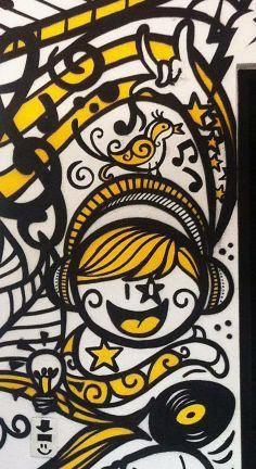 Freestyle na entrada do Estúdio Ao Vivo...  Danilo Roots - Art & Design