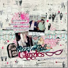 With Love From #FabScraps #scrapbooking #layout
