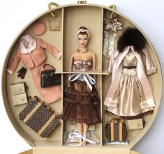 Haute Luxuries Gift Set, Haute Doll Magazine Exclusive 2004 (limited to 500) by fashiondollcollector, via Flickr