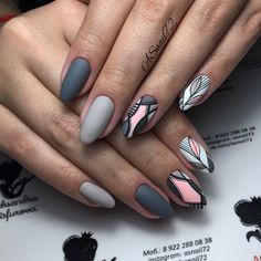 What you need to know about acrylic nails - My Nails Trendy Nail Art, Cute Nail Art, Stylish Nails, Cute Nails, Spring Nail Art, Spring Nails, Shellac Nails, Nail Manicure, Hair And Nails