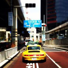 Signal Yellow Porsche 993 Carrera 4S #everyday993 #Porsche