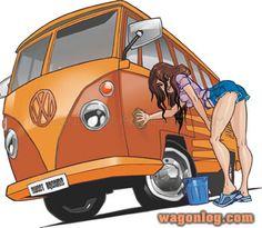 http://wagonlog.com/wp-content/vw_girl.jpgからの画像